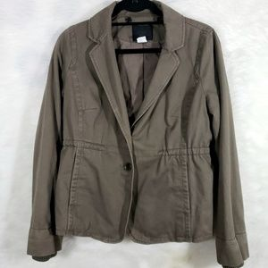 J Crew Collection Shearling Fatigue Jacket
